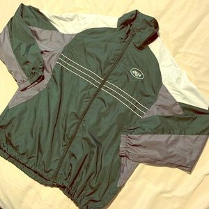 New York Jets Men's Reebok Windbreaker Jacket
